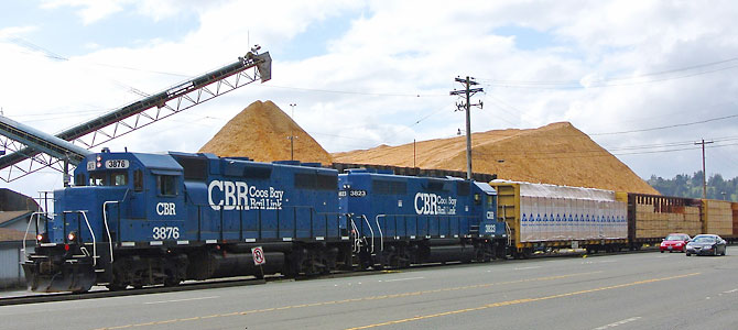 Coos Bay Rail Link – 2014 Short Line of the Year